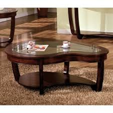 marble dining table adecc: furniture of america curve dark cherry glass top coffee table