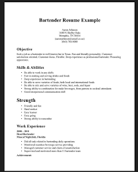 bartender resume objective   examples of cover letters yahoobartender resume objective how to write a bartender resume break into bartending bartender resume samples