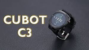 Best Bugdet <b>Cubot C3 Smart</b> Watch Review – GearBest