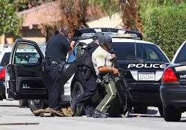 Palm Springs: 2 officers killed, 1 hurt; shooter at large