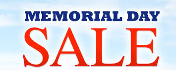 Image result for MEMORIAL DAY SALE