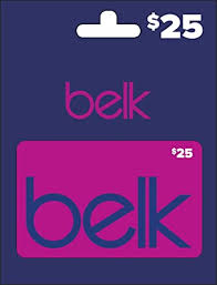 Belk Gift Card $25: Gift Cards - Amazon.com
