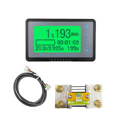 TF03K Coulomb Counter Meter <b>Battery Capacity Indicator Voltage</b> ...
