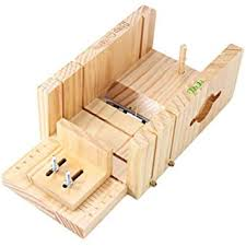 Leoie <b>Multifunction Wooden</b> Soap Cutter Box Accurate Wire Cutting ...