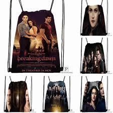 Custom <b>Twilight Saga</b> Breaking Dawn Drawstring Backpack Bag ...