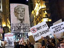 Image result for ANTI TRUMP DEMONSTRATIONS