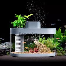 <b>Geometry</b> 15L/30L <b>Smart</b> Temperature Control <b>AI</b> Fish Tank Real ...