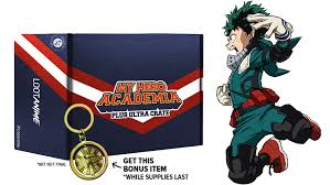<b>My Hero</b> Academia Plus Ultra Crate