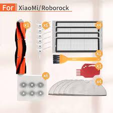 <b>6PCS</b> robot <b>vacuum cleaner HEPA filter</b> accessories kit for Xiaomi ...