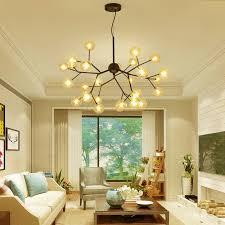 <b>Post</b> modern <b>Nordic</b> living room glass ball pendant light <b>creative</b> ...