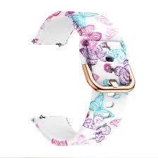 <b>Bracelet</b> for T80 <b>smartwatch Strap</b> T80 Flower Soft Silicone Watch ...