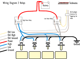 similiar 4 headlight system relay diagram keywords the following figure shows these four parts in action