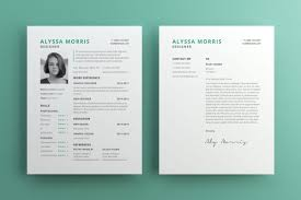 clean resume cv template for illustrator pagephilia