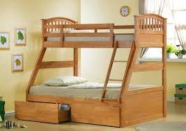 cream oak bedroom range simplistic oak hand made bunk bed