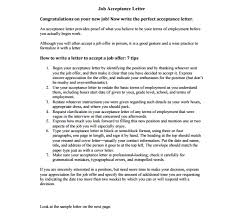 job offer reply letter   writing professional lettersjob offer reply letter