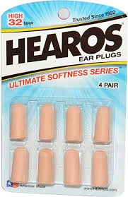Hearos Ear Plugs Ultimate Softness Series 4 Pairs ... - Amazon.com