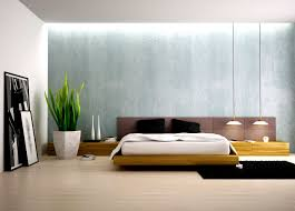 pictures simple bedroom: simple bedroom decor with nice flat bed and lighting textures