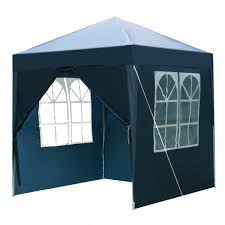 Waterproof Right-Angle Folding Tent in Blue - 2 x 2m Two Doors ...