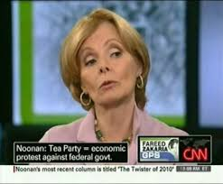 """Peggy Noonan did her best to try to portray the """"Tea Party"""" movement as some kind of leaderless, spontaneous, ... - 18402"""