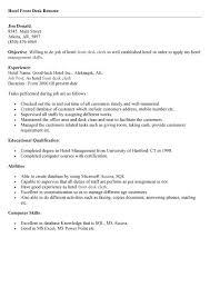 receptionist front desk resume   sales   receptionist   lewesmrsample resume  receptionist sle resume middot front