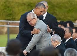 「バラク・オバマの広島訪問」の画像検索結果