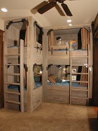 bunk bed kids beach style with wood paneling loft bed bunk beds kids loft