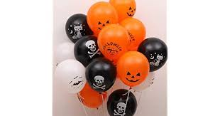 KTMBJ <b>Halloween Balloons</b> Ghost <b>Festival</b> Decorations Print ...