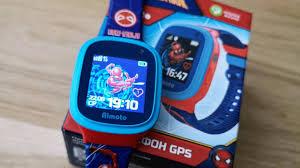 Обзор детских смарт-<b>часов Кнопка Жизни</b> Aimoto «Человек-паук ...