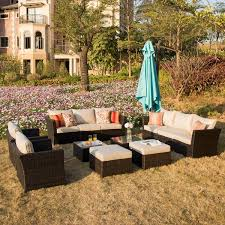 <b>9 Piece Outdoor</b> Furniture | Wayfair
