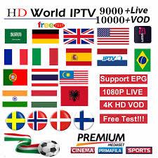 <b>IPTV</b> Subscription 9000 Channels Arabic USA Canada Europe ...
