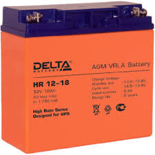 Купить <b>Батарея</b> Delta HR 12-18, 12V 18Ah (Battary replacement ...