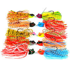 <b>1pcs 8cm 13g</b> Buzzbait Fishing Lure Silicone Skirts Snakehead Jig ...
