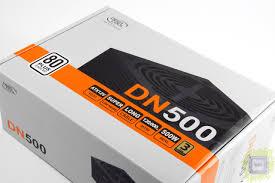 Обзор <b>блока питания Deepcool</b> DN500 (500 Вт ...