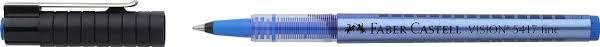 <b>Ручка</b>-<b>роллер Faber</b>-<b>Castell Vision</b> 5417 синяя — купить в ...