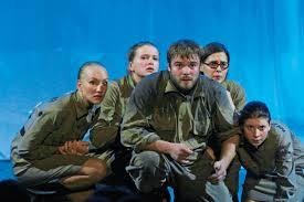 Спектакль «<b>Зори здесь тихие</b>» - театр «Мастерская» п/р Г. Козлова