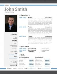 trendy resumes  creative resume templates modern resume template middot view amp