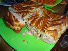 Image result for salmon pie russian
