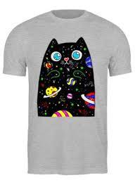 """Мужские <b>футболки</b> c эксклюзивными принтами """"котик"""" - <b>Printio</b>"""