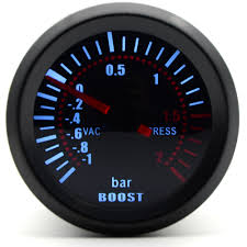 <b>2</b>'' <b>52mm Universal</b> Smoke Lens Turbo Boost Gauge Bar Boost ...