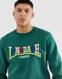 <b>Lonsdale</b> logo <b>sweatshirt</b> in green | ASOS