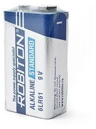 Батарейка <b>ROBITON</b> Alkaline Standart 6LR61 <b>Крона</b> — купить по ...
