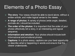 photographer essay the photographic essay