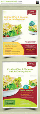simple restaurant offers flyer by geon graphicriver simple restaurant offers flyer restaurant flyers