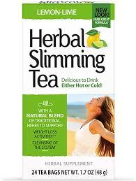21st Century Health Care, <b>Herbal Slimming Tea</b>, Lemon-Lime, 24 ...