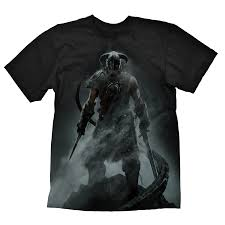 The Elder Scrolls V: <b>Skyrim T</b>-<b>Shirt</b> Dragonborn | The Official ...