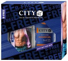 <b>Парфюмерный набор CITY</b> Parfum City 3D B-Free — купить по ...