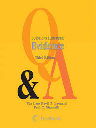 questions answers evidence third edition lexisnexis store view a sample of this title using the readnow feature
