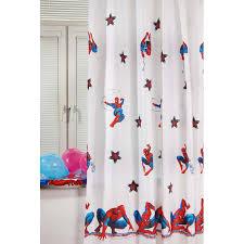 """<b>Портьера</b> детская ТАС """"<b>Spiderman</b>"""", цвет: белый, высота 265 см"""