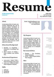 awesome designer resume templates for free download – kellology