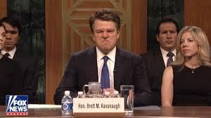 Matt Damon Is A Sniffing, Shouting Brett Kavanaugh On